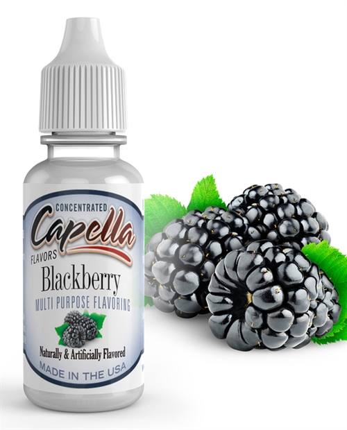 Capella - Blackberry Flavor concentrate 118 ml