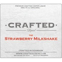 60 ml Crafted Strawberry milkshake