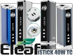 Eleaf Istick 40 Watt kit m/temp. kontrol
