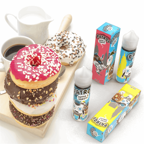 PATROL - COFFEE & DONUTS 60 ML