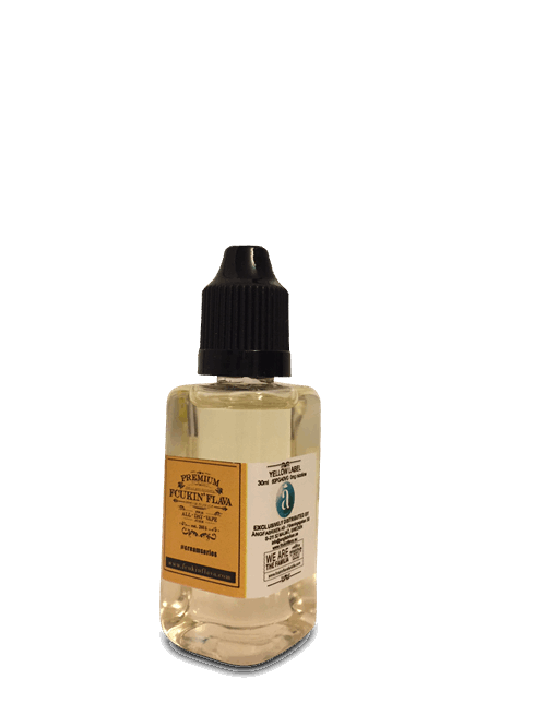 Yellow Label 60 ml (nogle leveres som 2x30 ml)