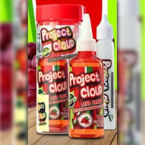 Project Cloud Red Grape Soda 100 ml