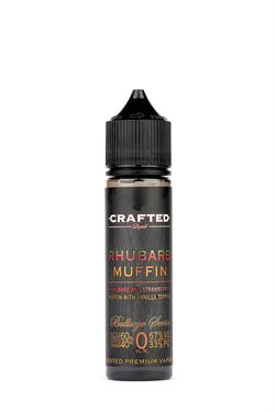 Crafted - Rhubarb Muffin 60ml