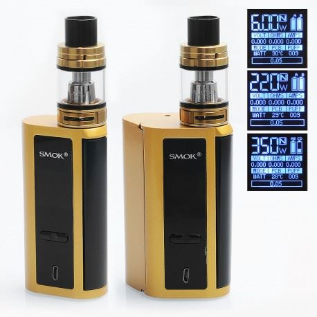 Smoktech/Smok GX2/4 Kit 350W m. TFV8 Big Baby