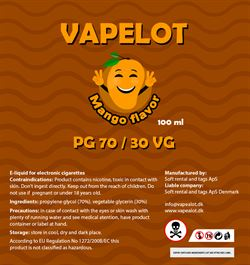 Vapealot - Mango 120ml