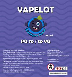Vapealot - Blueberry 120ml