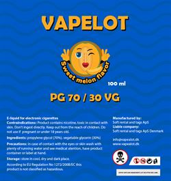 Vapealot - Sweet Melon 120ml