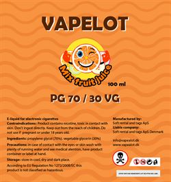Vapealot - Mix Fruit 120ml