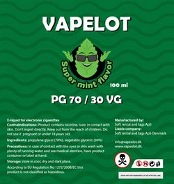 Vapealot - Super Mint 120ml