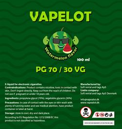 Vapealot - Watermelon 120ml